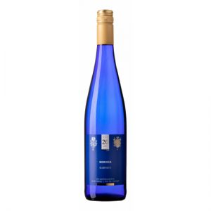 Blauwe Fles Wit