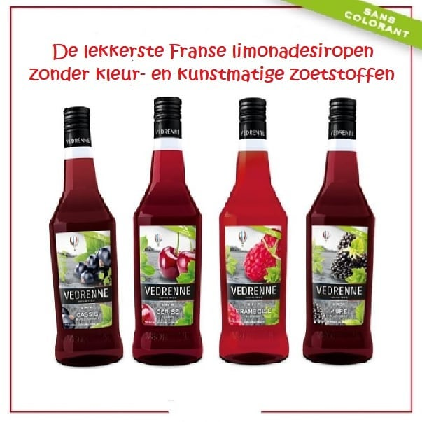 de lekkerste franse limonadesiropen zonder kleur en kunstmatige zoetstoffen bergen noord holland
